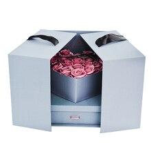 Мыло роза цветок свадьба подружка день рождения идеальный подарок для любой женщины