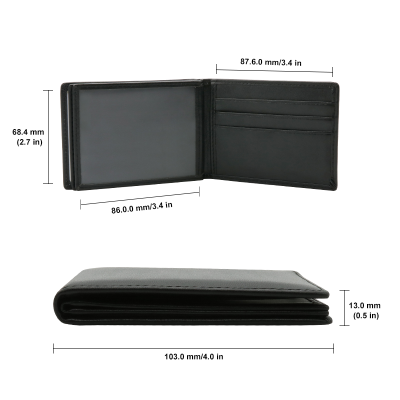 Genuine Leather Card Case Business Card Holder Men Credit Passport Card Bag ID Passport Card Wallet for bmw m F20 F10 F30 E30