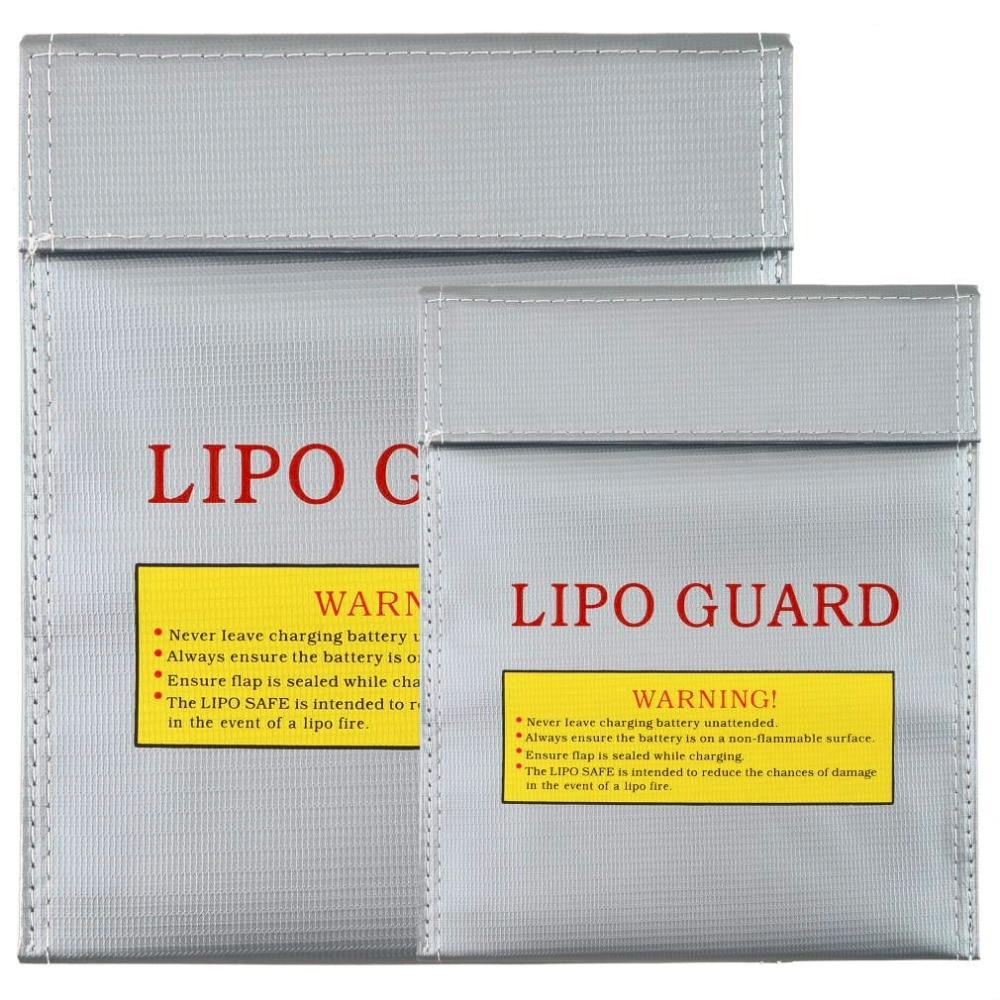 1Pc Fireproof RC LiPo Батарея Қауіпсіздік - Қашықтан басқару пульті бар ойыншықтар - фото 6