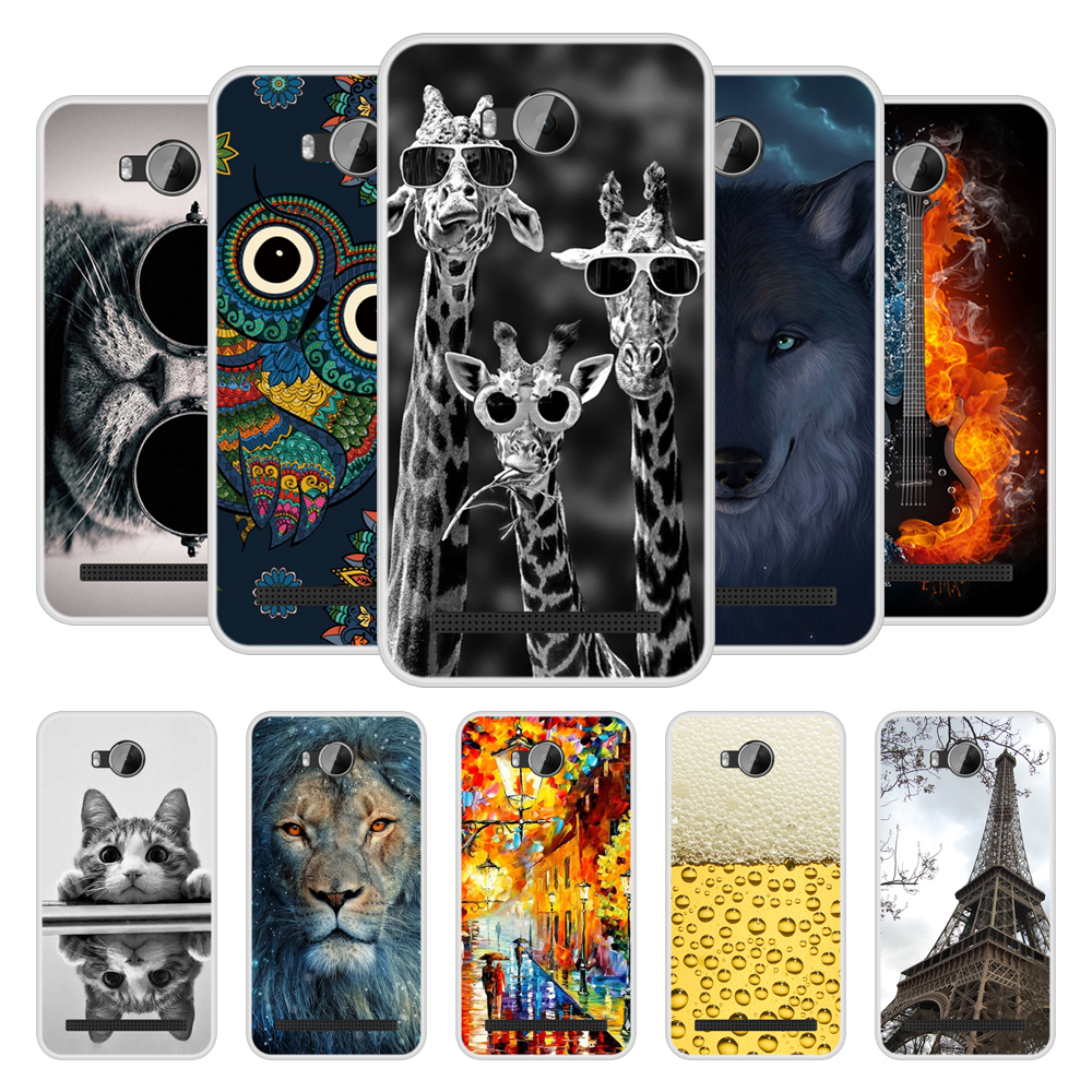 Case Cover for Huawei Y3II Y3 II Soft Silicone TPU Chic Pattern Printing for Huawei Y <font><b>3</b></font> II Y3 <font><b>2</b></font> LUA L21 Phone Case image
