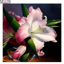MOONCRESIN DIY Diamond Embroidery Bloom Vintage Tulip Diamond Painting Cross Stitch Full Square Drill Rhinestone Mosaic Decor капли для кошек авз барс форте инсектоакарицидные от внеш паразитов 3 пипетки