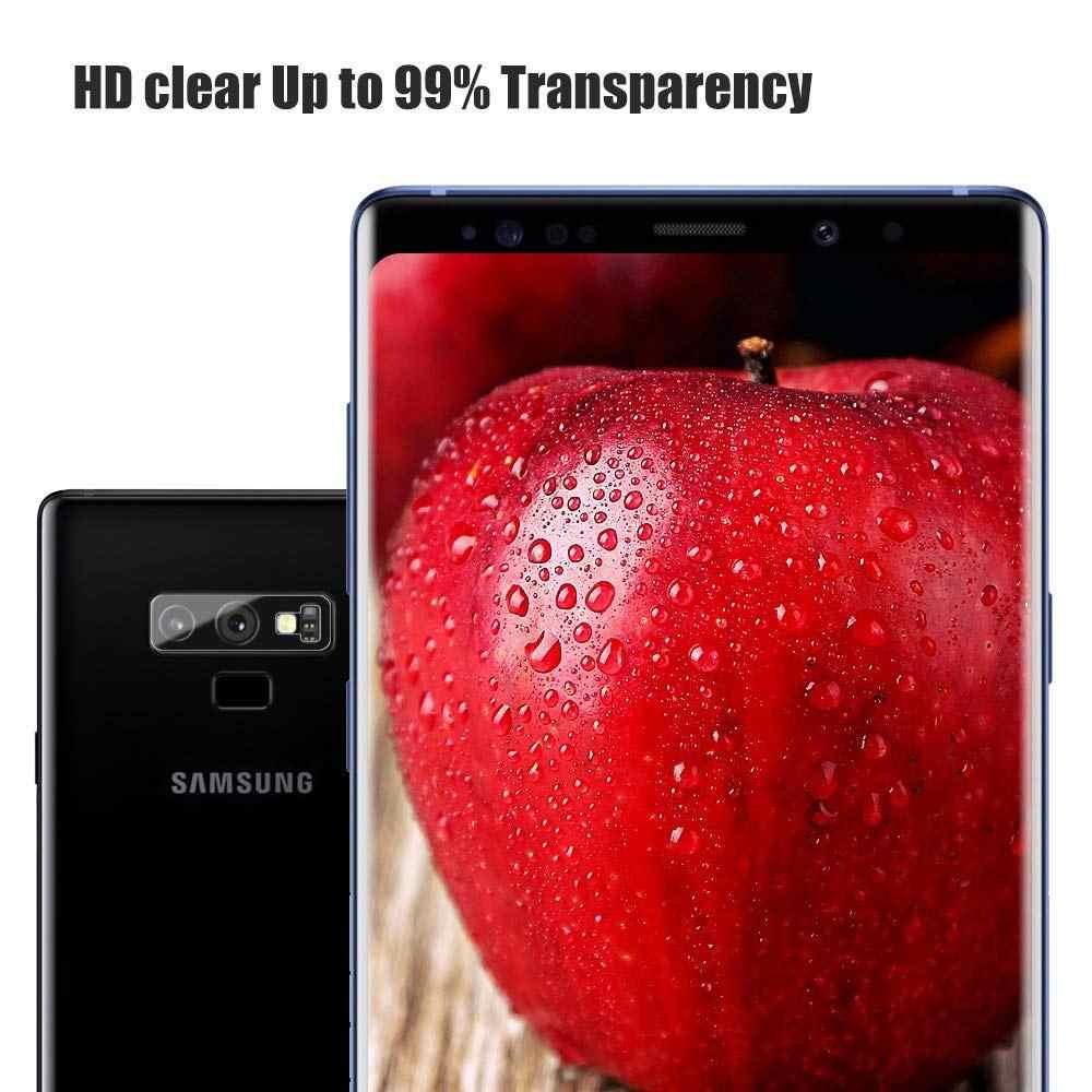 NYFundas كاميرا عدسة الزجاج المقسى لسامسونج غالاكسي S9 S8 s10 زائد s10e s10 + S7 s6 حافة ملاحظة 9 4 حماية واقي للشاشة