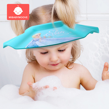 Adjustable Baby Shampoo Cap Toddler Bathing Shower Hat EVA Soft Kids Care Bath Wash Hair Protection Caps Child Accessory
