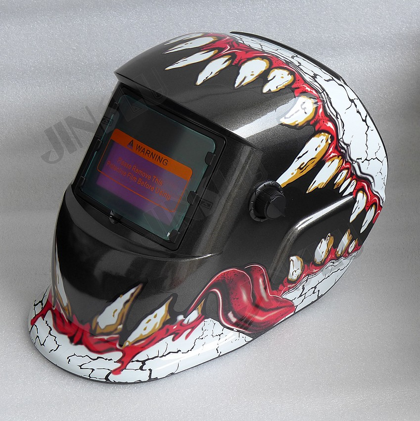 2 in 1 Grind and Weld Welding Helmet Solar Auto Darkening Welding Mask Welding Glass Welder Cap TIG MIG MAG MMA Welder Teeth