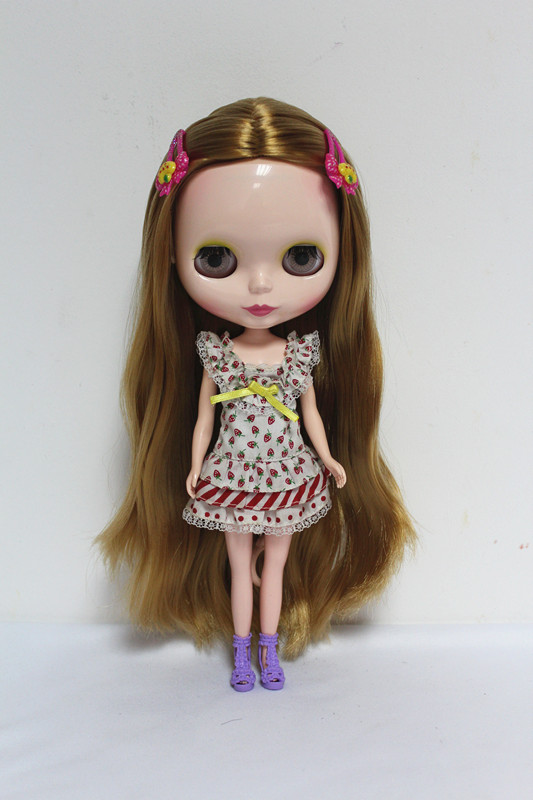 Free Shipping big discount RBL-51DIY Nude Blyth doll birthday gift for girl 4 colour big eyes dolls with beautiful Hair cute toy free shipping big discount rbl 288diy nude blyth doll birthday gift for girl 4colour big eyes dolls with beautiful hair cute toy