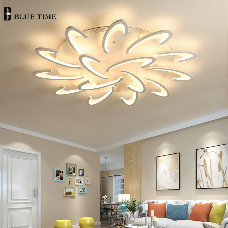 Modern Led Ceiling Lights For living Room Bedroom Dining Room Led Lustres Acrylic Mount Ceiling Lamp Indoor Lighting Fixtures ceiling lighting minimalist modern balcony study bedroom lighting led intelligent atmospheric living room dining room