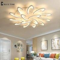 Modern Led Ceiling Lights For Living Room Bedroom Dining Room Led Lustres Acrylic Mount Ceiling Lamp