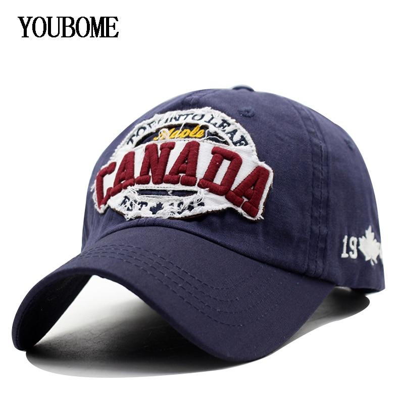 100% Cotton Baseball Cap Men Snapback Caps Casquette Hats ...