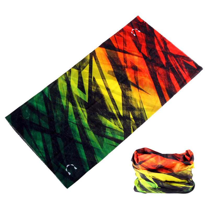 Magic Bandana Neck Gaiter Man Sport Headscarves Kerchief Seamless Cycling Face Shield Shemag Military Women Kaffiyeh Buffe Scarf