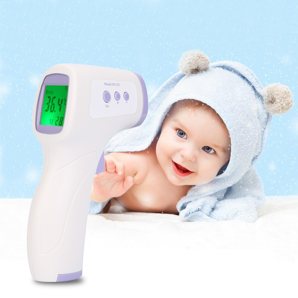 Gustala Multi-purpose Digital Thermometer Infrared Babies Thermometer Electronic LCD Non-contact Forehead Body Termometro hot new multi purpose infrared babies