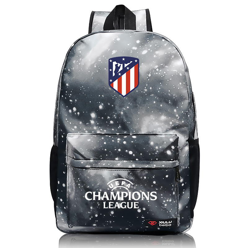New Hot Atletico Madrid Backpack For Football Teenager Back To School Student Bags Christmas Gift For The Football Kids H255
