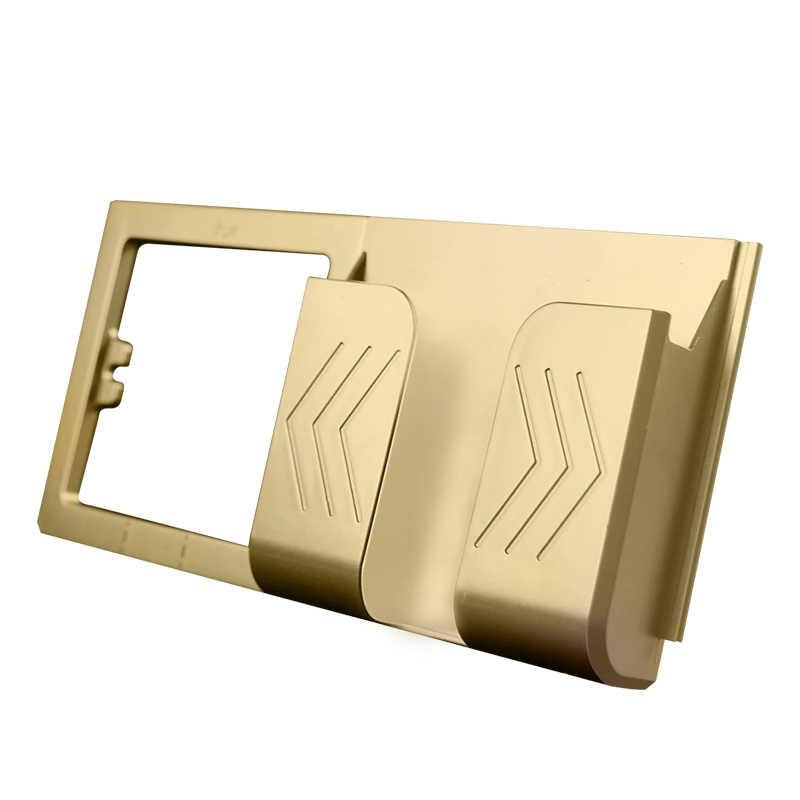 EU 표준 전기 벽 충전기 어댑터 충전 벽 독일 플러그 소켓 전원 콘센트, 흰색, 16A, 접지, PC 패널