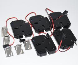 5 sztuk DC12V typu otwartej ramki elektroniczny zamek do drzwi 12 V/2A dla zamki szafek/elektromagnetyczny zamki/szuflady