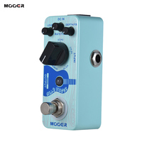 Hot Sale Guitar Effect Pedal MOOER Baby Water Acoustic Guitar Delay & Chorus Effect Pedal True Bypass Full Metal Shell