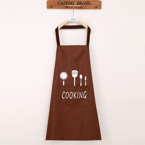 Image 2 - Lady Water Oil Proof Apron Home Kitchen Chef Aprons Restaurant Cooking Baking Dress Fashion Apron With Pockets