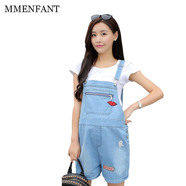 maternity pants denim overalls summer thin trousers maternity