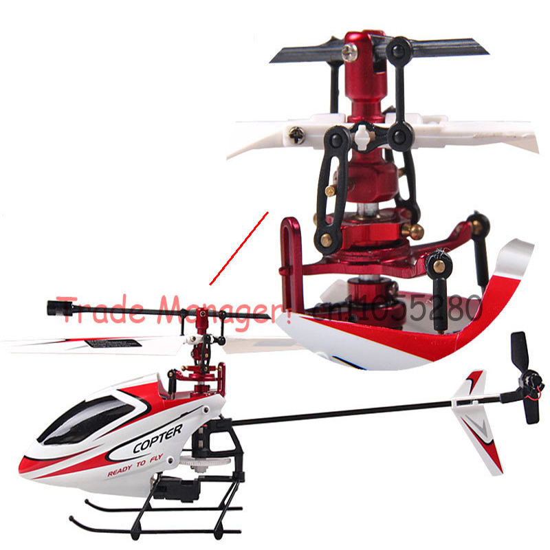 KAINISI rc toys Free shipping Upgrade metal aluminum V911 2 4G 4CH rc helicopter Outdoor Upgrade