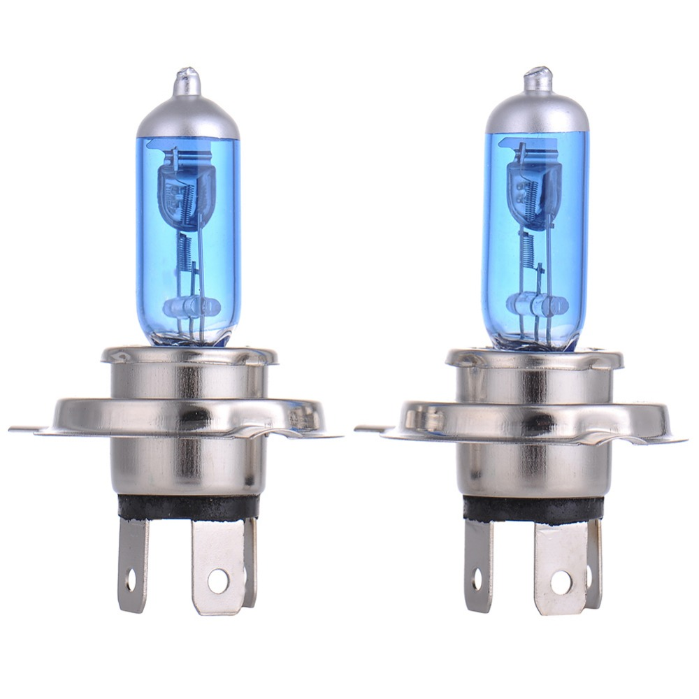 2pcs H4 Super Bright White Yellow Fog Halogen Bulb 60W/55W Car Head Light Lamp h4 60W/55W car styling car light source 12V 2pcs auto right left fog light lamp car styling h11 halogen light 12v 55w bulb assembly for ford fusion estate ju  2002 2008