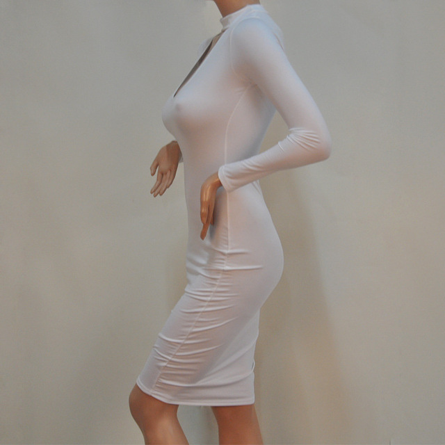 Elegant Bodycon Bandage Dress