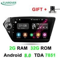 Octa Core 2 Din Car Dvd Gps Android 8 0 9 Inch For Kia Rio K2