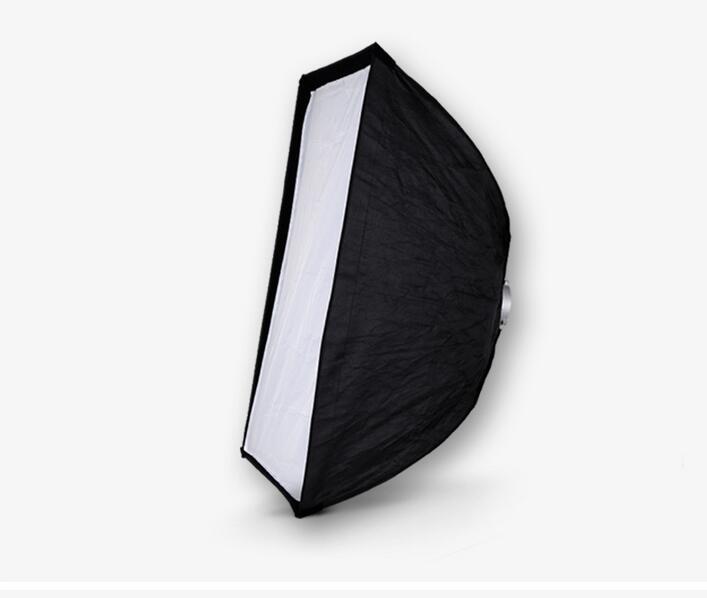 Nicefoto K70*100cm Umbrella Frame Photo Studio Square Softbox Soft Box For All Strobe Flash Lighting nicefoto k80 120cm umbrella frame photo studio square softbox soft box for all strobe flash lighting