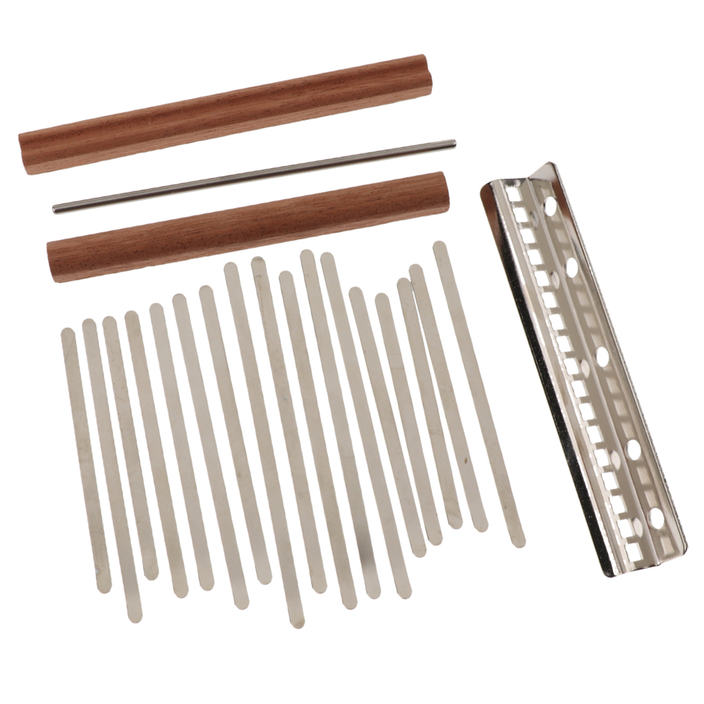 Kalimba Mbira DIY 17 Keys With Thumb Piano Bridge Percussion Instruments For Luthiers Makers
