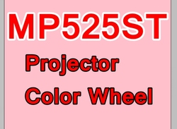 Nowy oryginalny koło kolorów do projektora Benq MP525ST koło kolorów w Akcesoria do projektora od Elektronika użytkowa na
