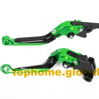 Motorcycle Accessories CNC Folding&Extending Brake Clutch Levers For Kawasaki VN1500 Classic +Tourer 1998 2003 1999 2000 2001