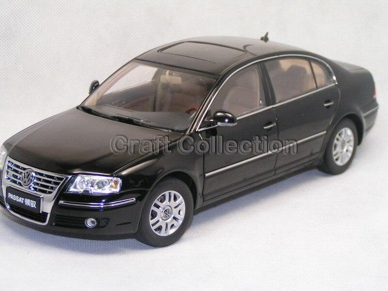 Black 1 18 Volkswagen VW Passat 2007 Diecast Model Car Classical Sedan Collection