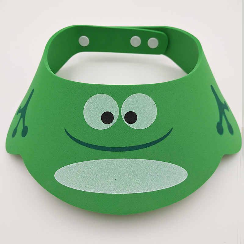 Touca de Banho Do Bebê ajustável Do Bebê Ajustar Shampoo Shower Banho Proteja Suave Cap Acessório Do Chuveiro Do Bebê