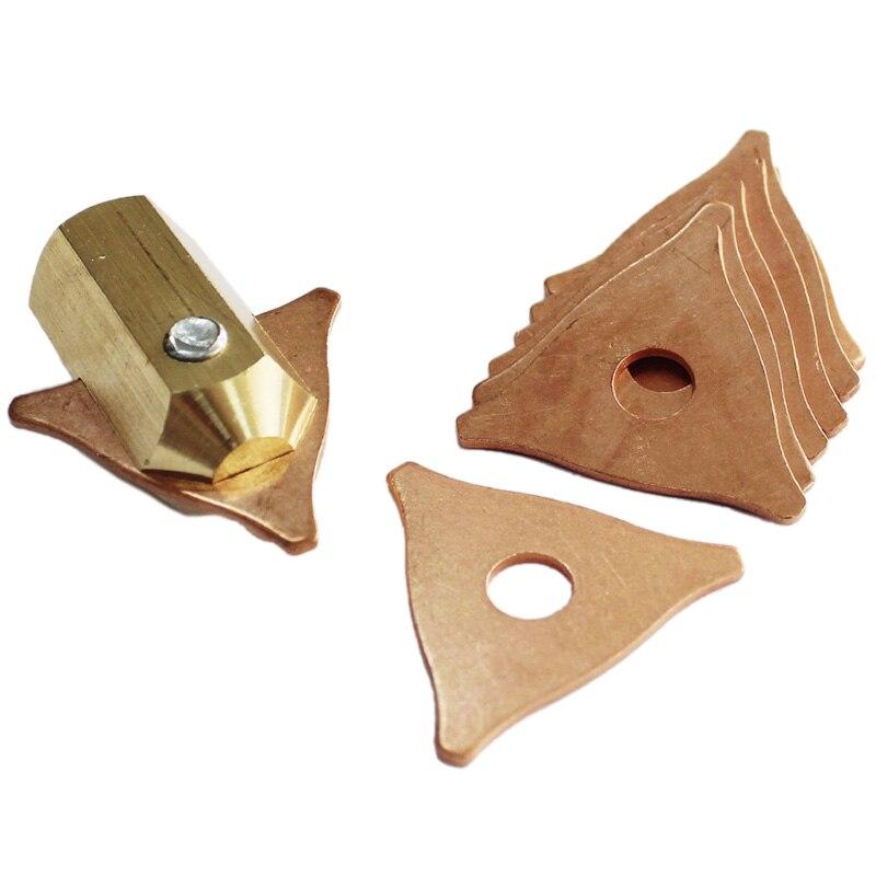 Tri Hook Washer 3 Point Dent Puller Electrode Chuck Dent Pulling System Stud Welders Spot Welding Uni Spotter Triple-Cornered