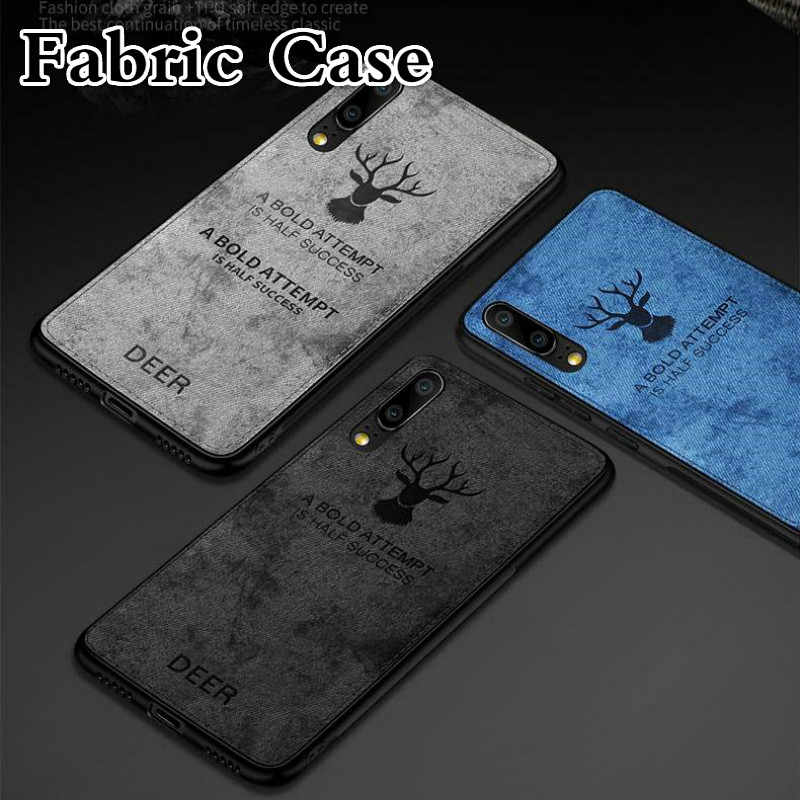 Cloth Fabric Deer Phone Case For Huawei Honor 20 Pro 10i 20i 8S 8A 8C 8X Soft Silicone Back Cover For Honor 8 9 10 Lite TPU Case