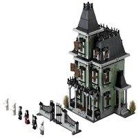 16007 LEPIN Monster Warrior Fighters Haunted House Model Building Blocks Enlighten Figure Toys For Children Compatible