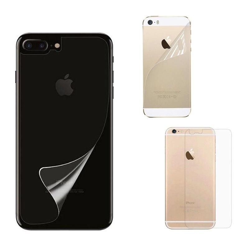 שקוף ברור מט מבריק משמר מגן מגן סרט עבור iphone 5 5S SE 6 6 s 7 8 בתוספת X XR XS מקסימום יחזור מסך כיסוי