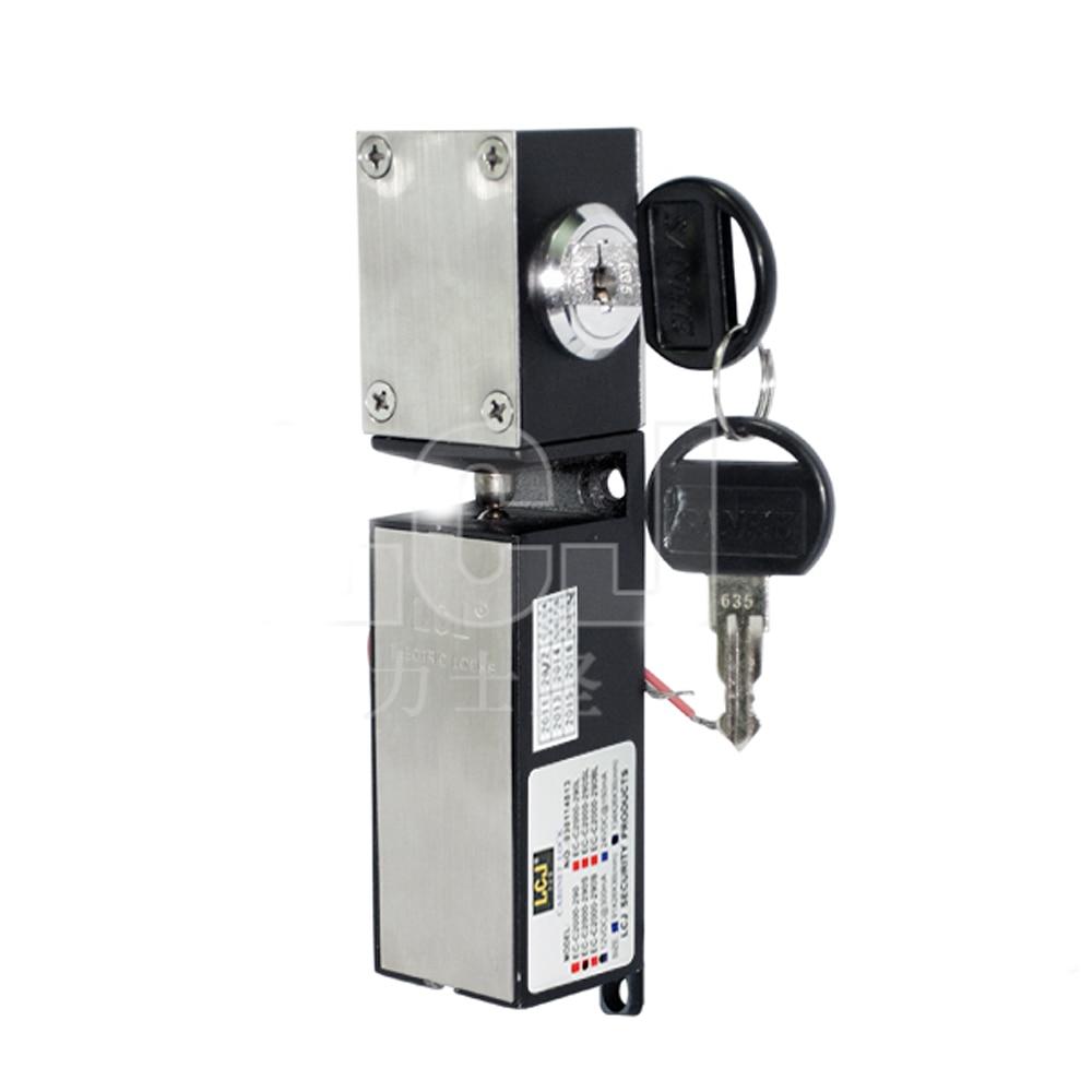 ФОТО Free shipping Key +DC12V Electromagnetic Lock Electronic Locks For Locking Sell-Machine Storage Shelf File Cabinet
