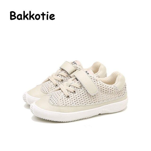 60d1bd5fe6a Bakkotie 2017 Nieuwe Mode Lente Baby Boy Casual Kinderen Sport Schoen  Bijenkorf Mesh Kid Merk Meisje