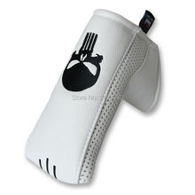 حرفي مضرب غطاء + كرة جولف علامة الجمجمة مضرب الغولف غطاء غطاء الرأس مع المغناطيسي إغلاق شفرة Sytle