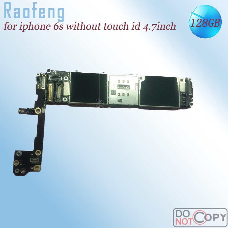Raofeng iPhone for 6s Mainboard Unlocked with Chips 128GB Disassembled Touch-Id