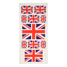 Fans GB Union Jack Flag Tattoo Temporary Body Face Stickers Art