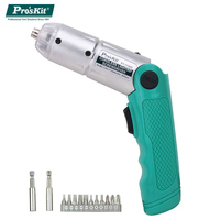 ProsKit PT 1136G Mini Electric Screwdriver Rechargeable NI MH battery Cordless Lighted Electronic Screwdriver