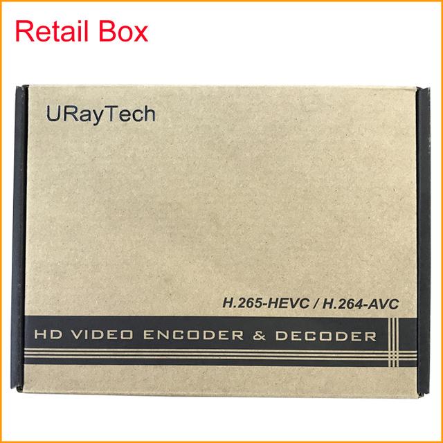 HDMI To IP Video Encoder Wireless HEVC