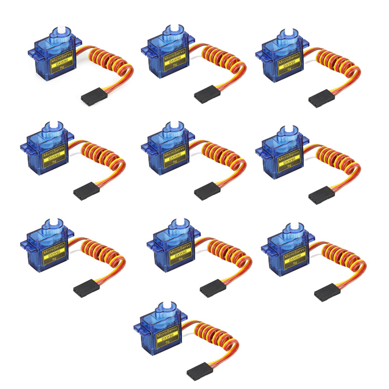 10pcs/lot lofty ambition SG90 9g Mini Micro Servo for RC for RC 250 450 Helicopter Airplane Car Drop Free Shippping DXW90 20pcs lot 100% brand new sg90 mini gear micro servo for rc car boat helicopter airplane trex 450 wholesale