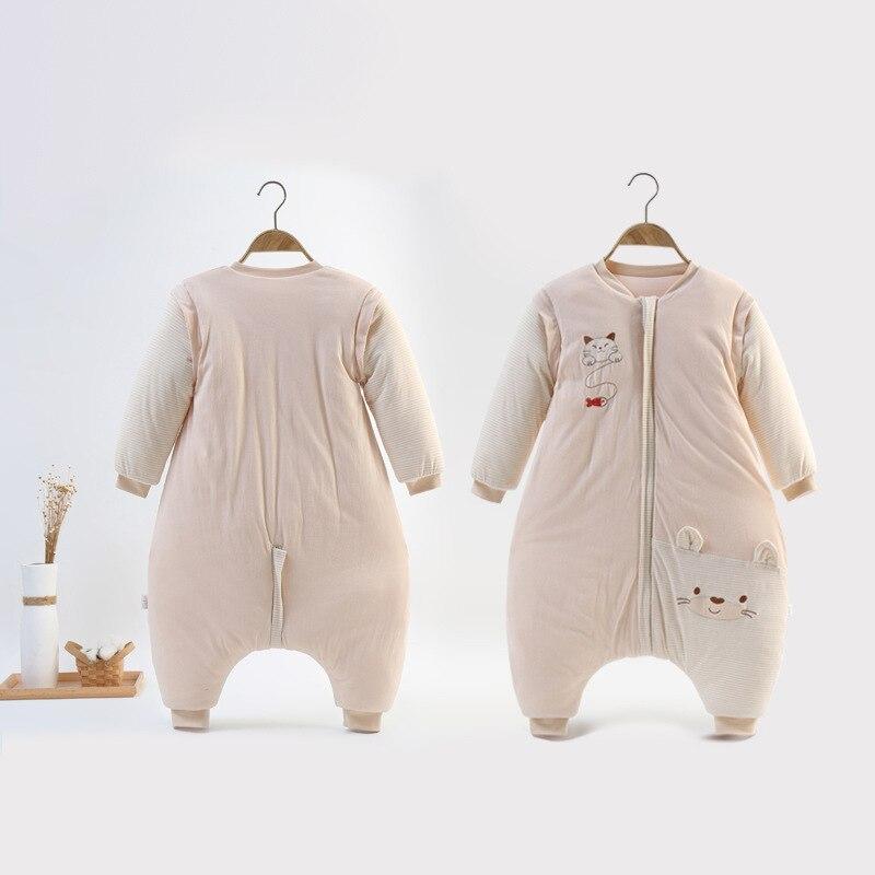 Thicken 0-4Y Winter Baby Slaapzak Infant Baby Sleeping Bag Baby Wrap Swaddling Jumpsuits Sleepsack Spring Child Onesies BDZ888
