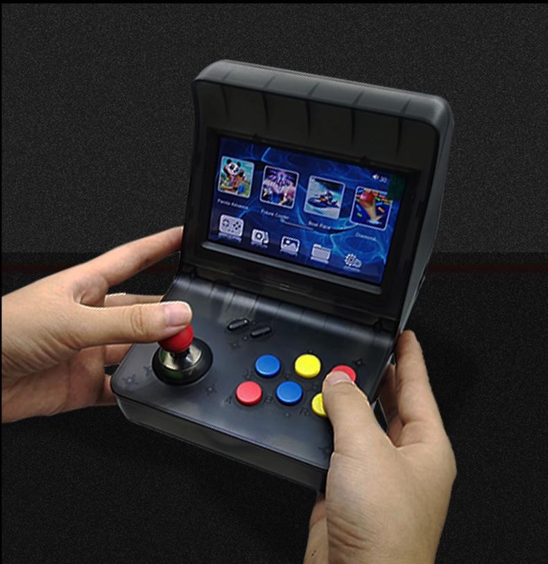 New Portable Retro Mini Handheld Game Console 4.3 Inch 64bit 3000 Video Games Classical Family Game Console Gift RETRO ARCADE