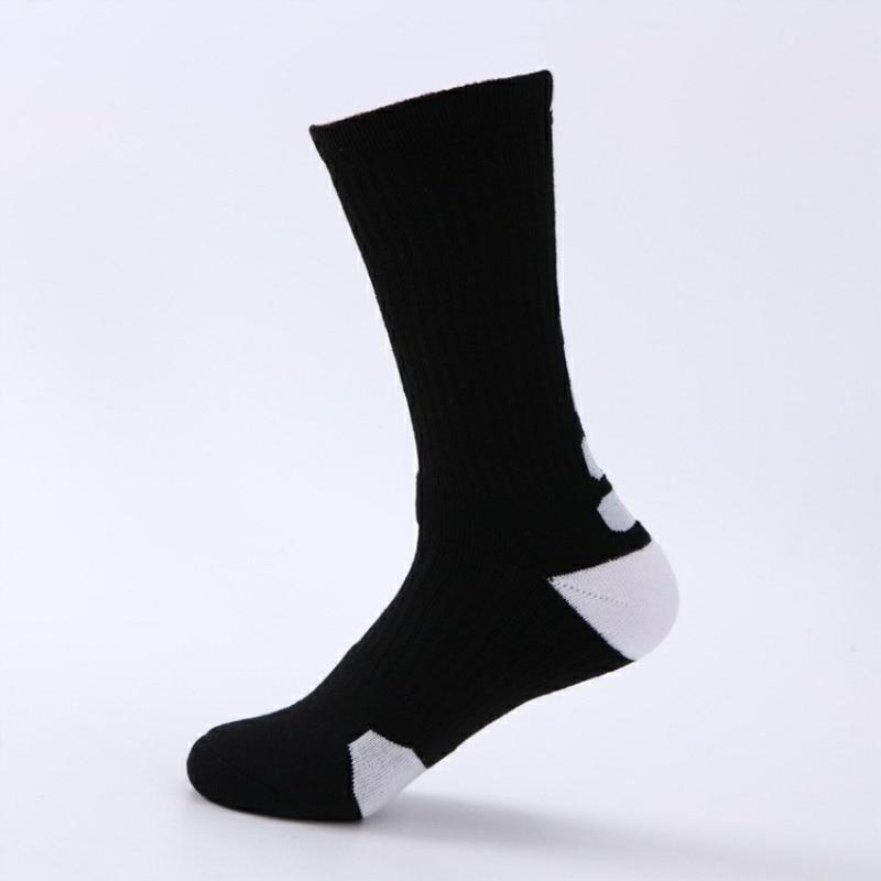 Sport Sock Basketball Workout Sock Mens Cycling Women Running