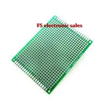 6X8cm 6*8cm Double Side Prototype pcb Breadboard Universal for Arduino 2.54mm Glass Fiber Practice DIY Kit Tinned HASL