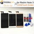 Tela de lcd para xiaomi redmi note 3 pro alta qualidade substituição display lcd + touch screen para xiaomi redmi note 3/prime 5.5 polegada