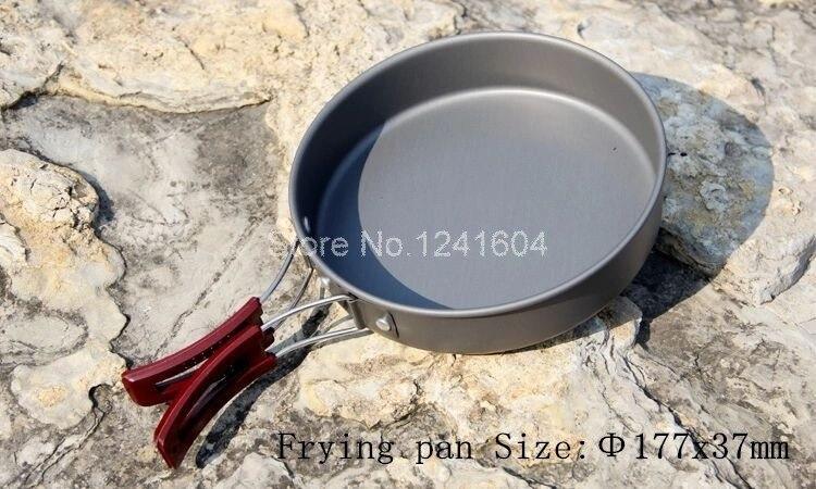 Acampamento Ao Ar Livre Panelas Frigideira Caldeirão Tea pot FMC-204 720g