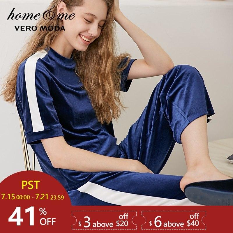 Vero Moda New Striped Leisure Wear   Pajamas     Sets     3183TS501