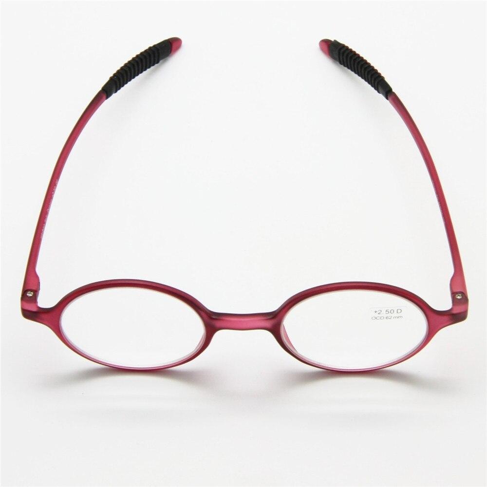 Flexible TR90 retro gafas de lectura, marco redondo unbreakable ...